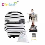 Elinfant Figh quality Breastfeeding Nursing cover Scarf multi-use baby car seat cover