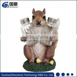 Christmas Decoration Resin Fake Squirrel
