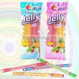 Bag Packing Fruity Flavor Jelly Stick