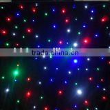 led star curtain for backdrop decoration in bar , ktv