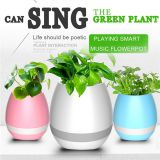 Led Night Light Music Flowerpot