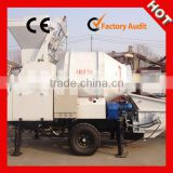 Zhengzhou UNIQUE JBT30 Portable Concrete Pump With Mixer