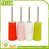 Eco Friendly Fashion Toilet Brush With Stainless Steel Handle