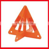 orange triangle road signs/safety warning triangle traffic sign