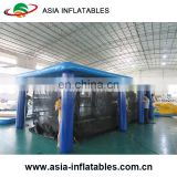 Personal Portable Inflatable Swimming Pool Enclosure, Portable Jellyfish-Safe Floating Swimming Pool