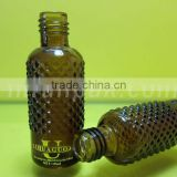 Amber <b>essential</b> <b>oil</b> bottle