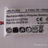 Plantronics CS70 battery 66278-01