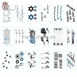 Professional Waterproof Custom Non-toxic Fashion Sexy Hand Body Temporary Tattoo Sticker