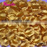 Gold color Silk Rose Petals