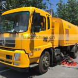 NJJ5162TSL5 Dongfeng Chassis price of vacuum road sweeper truck