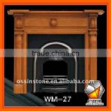 Wood fireplaces mantel made of pure wood