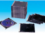CD jewel Cases CD jewel Cover CD jewel Boxes 5.2mm silm square with black tray(YP-E501H)