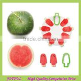 fruit cutter,press watermelon into fresh popsicle Ice Lollies Shape Cutter Pepo Watermelon Slicer Cutter