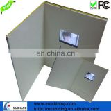led lights video brochure player greeting card