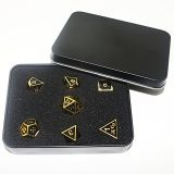 Large custom made triple metal deluxe dice game