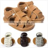2016 baby leather sandal shoes boy child sandal fancy M6061104