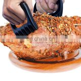 Plastic Bear Paw Meat Handler Forks / Meat Claws For BBQ