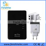 Fanshine 300Mbps <b>Wireless</b> Home Mini Wifi <b>Repeater</b> with 2 <b>Lan</b> Ports and On Off