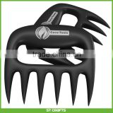 Meat Claws Lift Tongs Pull Handler handling Fork Toss with Ergonomic Handles/ Meat Claws