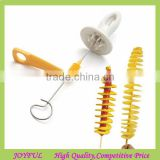 Stainless Steel Tornado Potato Spiral Cutter Slicer Spiral Potato Chips Making Twist Shredder