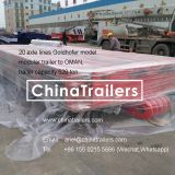 20 axles Goldhofer THP/SL Model Modular Trailer for OMAN