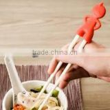 Good durable food grade silicone chopsticks for kids