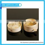 Eco-friendly kitchenware round Bamboo dim sum steamer