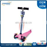 New Arrival children electric LED flash scooter toys with music