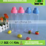450ml PET rotated lid clear plastic drinking water bottle wholesale