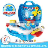 Educational toys kids pretend play doctor set with light