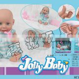 wholesale 14 inch talk and walk simulation real baby dolls for kids