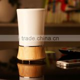 150ml wood and plastic combined essential oil aroma diffuser ultrasonic nebulizer humidifier