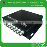 Manufacturer 8 ch <b>Video</b> over Fiber Optical <b>converter</b> for Security <b>System</b>