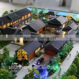 Architectural models of Hotel Park making service