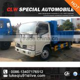 dongfeng 4*2 mini garbage truck tipper