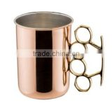 fancy copper beer mug