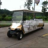 10seats electric golf cart Hot sale electric sightseeing car with CE for 10 passengers