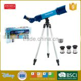 Zhorya play set telescope with accessories 3 eyepiece included