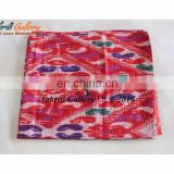 Indian Quilt Ikat Bean Print Single cotton Fruit Print quilts Comfortable Soft Quilt