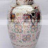 high quality antique indian handicrafted metal urns