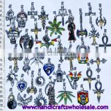 Metal Pendants, Many Different Styles, Ethnic Handmade Jewelry from Peru