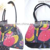 printed cotton hand bags