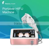 High Frequency Galvanic Machine HIFU High Intensity Focused Ultrasound Face Lift And Back Tightening Skin Tighten Machine Bags Under The Eyes Removal