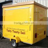 Fast Food Mobile Kitchen Trailer Mobile Food Vending Trailer