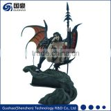 Japan sex cartoon hot toys 1/6 scale plastic toy dragon