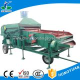 Large power screening lentil agricultural processing machine