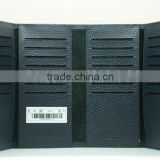 Guangzhou OEM/ODM leather wallet supplier fancy geniune leather coin sorter wallet for men and women