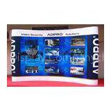3 * 4 Pop Up Exhibition Stands , Fabric <b>Trade</b> <b>Show</b> Display For Gift Display