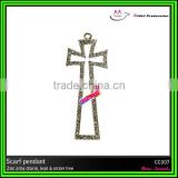 wholesale diamond cross charms and pendants