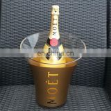 acrylic clear or colored moet chandon ice bucket / Champagne bucket